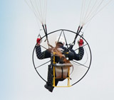 Ric Womersley. (19 yr old trainee instructor at Airways. Team paramotor pilot.)